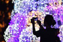 Фестиваль новогодней иллюминации в Бангкоке