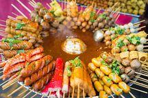 Уличную еду в Бангкоке можно оплатить с помощью смартфона