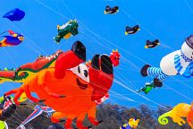 Фестиваль воздушных змеев в Хуа Хине