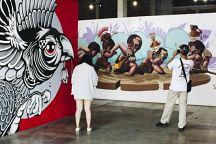 Выставка уличных рисунков пройдет в Бангкоке