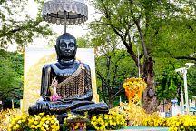 На площади Санам Луанг выставили буддийские реликвии