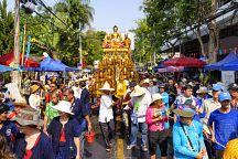 Сонгкран в Таиланде отпраздновали 2 миллиона туристов