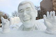 Таиланд одержал победу на фестивале снежных скульптур