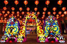Фестиваль китайских фонариков начался в Самутпракане
