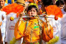 На Пхукете готовятся к Вегетарианскому фестивалю