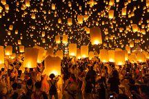 В Таиланде отменили два фестиваля небесных фонариков