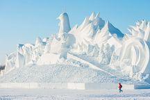 Таиланд занял первое место на конкурсе ледяных скульптур