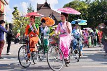Чиангмай приглашает на Фестиваль зонтиков