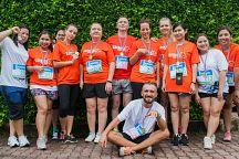 Благотворительный марафон «Run to give» 2015