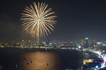 В Паттайе прошел 3-й Международный фестиваль фейерверков