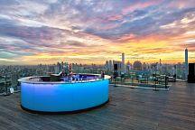 Octave Rooftop Lounge & Bar: морепродукты, коктейли и вечерний Бангкок