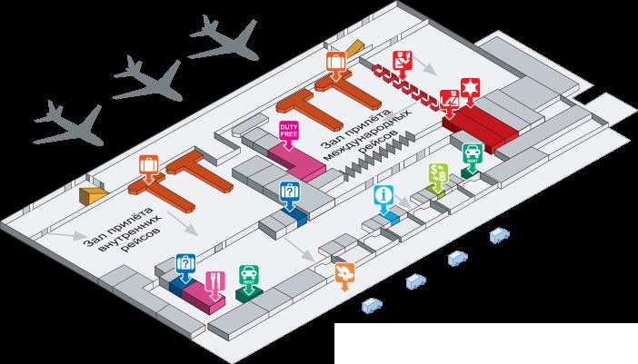 План аэропорта Пхукет