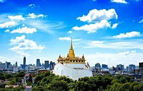 Экскурсии Бангкока. Храм Золотой Горы
